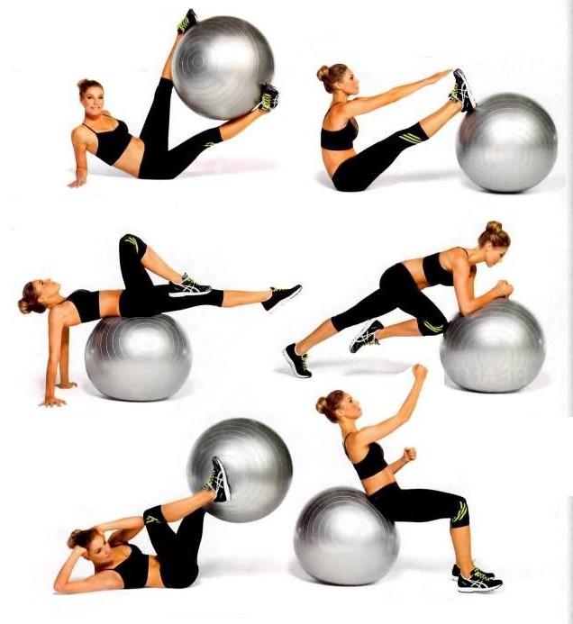 Ортопедический массажный мячик с шипами - упражнения для спины для всех